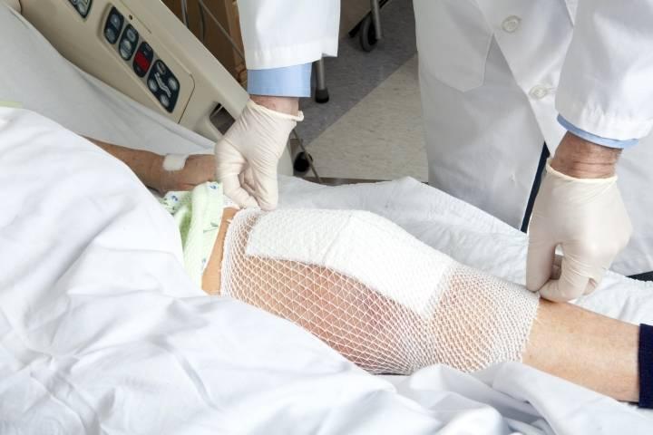 восстановление после операции по замене коленного сустава