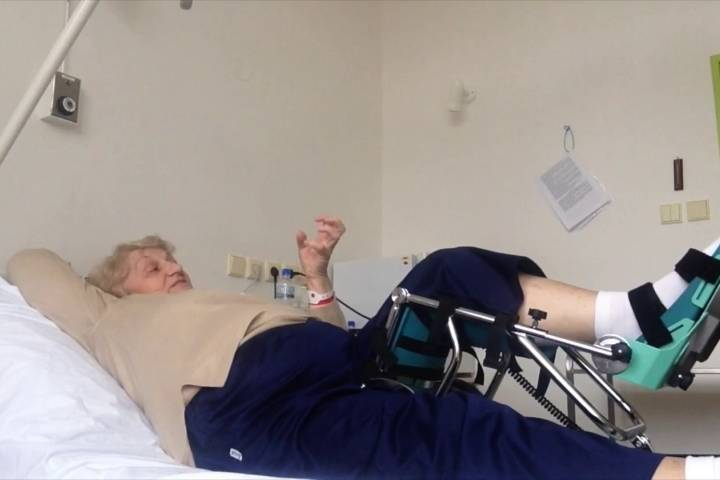 Первые дни после замены коленного сустава thumbnail