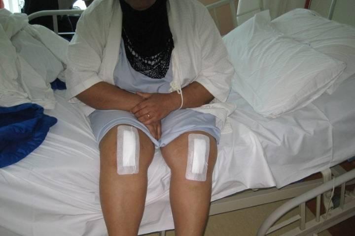 замена сустава колена реабилитация