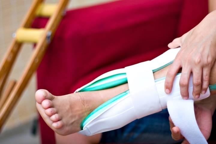 перелом лодыжки реабилитация