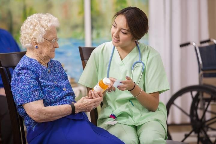 уход за больным инсультом в больнице