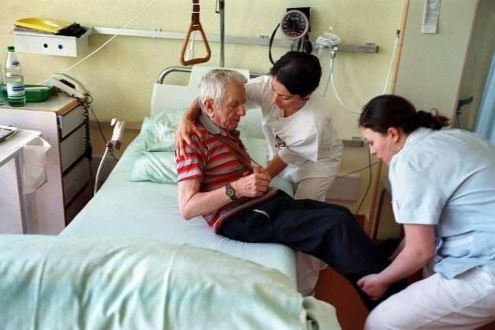 уход за тяжелобольным пациентом